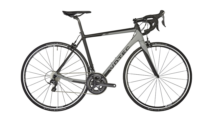 VOTEC VRC Comp - Carbon Road - black/grey